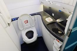 airline loo